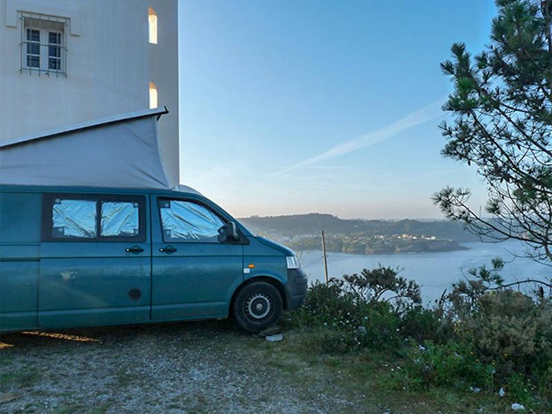 Aux abords de la plage de Malpica (Espagne)